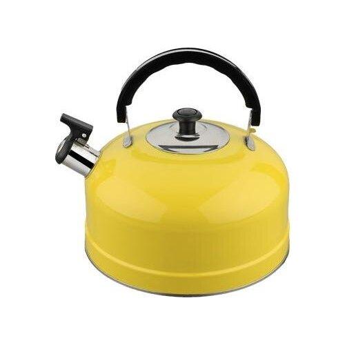 Irit Чайник со свистком IRH 2.5 л, желтый набор форм для выпечки irit irh 924