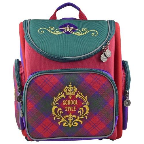 BG Рюкзак-ранец Transformer Schoolkid SBT 2774 красный/зеленый/фиолетовыйРюкзаки, ранцы<br>