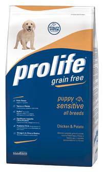 Корм для щенков Prolife курица с рисом