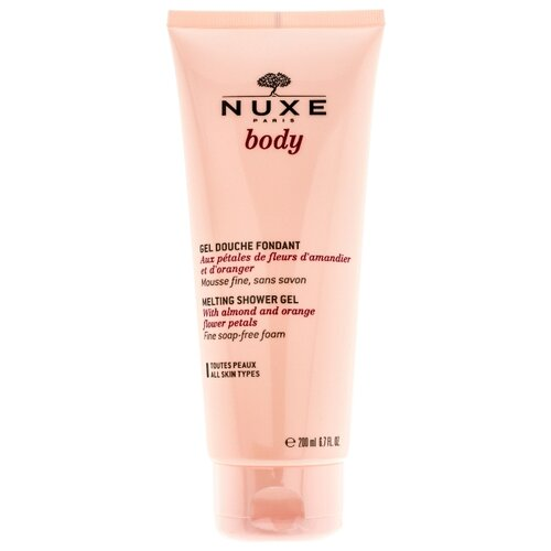 Гель для душа Nuxe Body, 200 мл набор дезодорант ролик 2х50 мл nuxe nuxe body