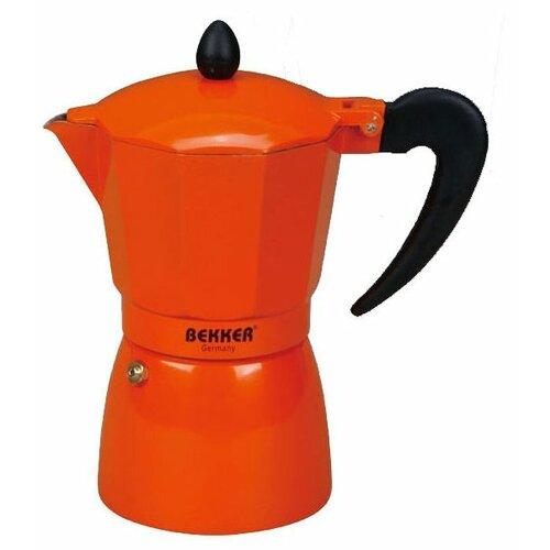 Кофеварка Bekker BK-9352 (300 мл), оранжевый