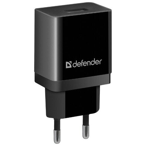 Сетевая зарядка Defender EPA-10 черный