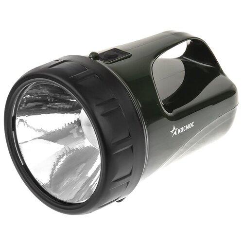 цена на Ручной фонарь КОСМОС Accu368 LED черно-зеленый