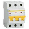 Автоматический выключатель IEK ВА 47-29 3P (D) 4,5kA