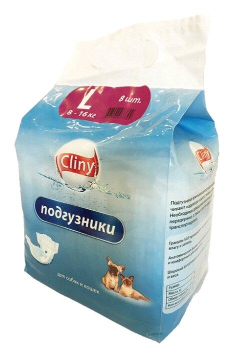 Подгузники для собак Cliny 8-16 кг размер L