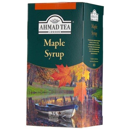 Чай зеленый Ahmad tea Maple syrup в пакетиках , 25 шт. the crown maple guide to maple syrup