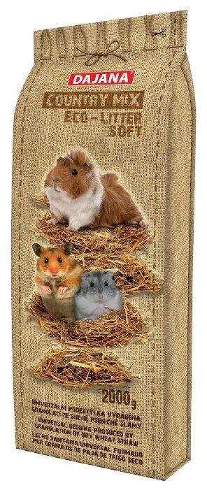 Солома Dajana Pet Country Mix для мелких грызунов 2 кг