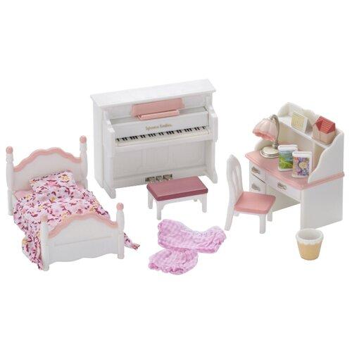 Купить Игровой набор Sylvanian Families Детская комната, бело-розовая 5032, Игровые наборы и фигурки