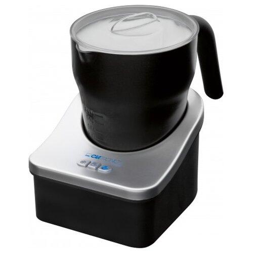 Вспениватель для молока Clatronic MS 3326 черный/серебристый фритюрница clatronic fr 3649 черный серебристый