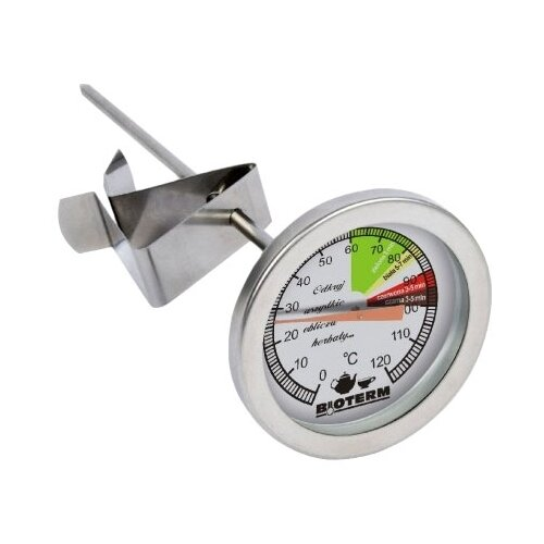 Термометр BIOWIN 100700 серебристыйТермометры и таймеры<br>