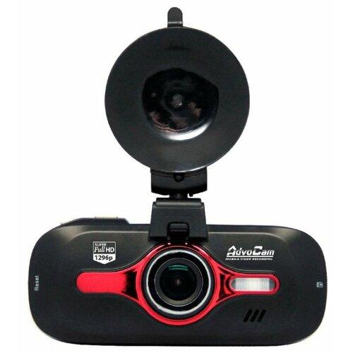 Видеорегистратор AdvoCam FD8 Red-II (GPS+ГЛОНАСС), GPS, ГЛОНАСС черный