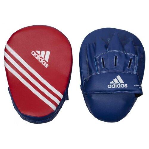 Тренировочные лапы adidas Focus Mitt Short Eco красный / синий