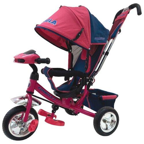 Фото - Трехколесный велосипед Formula F3 Formula 3 розовый полесье велосипед трехколесный дидактик 3 46598 цвет в ассортименте