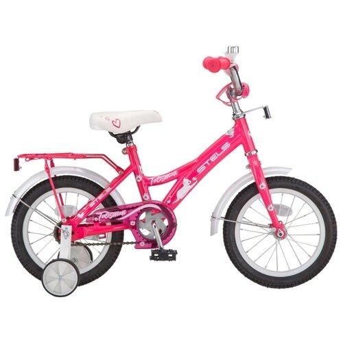 Детский велосипед STELS Talisman Lady 14 Z010 (2019) розовый/белый (требует финальной сборки)