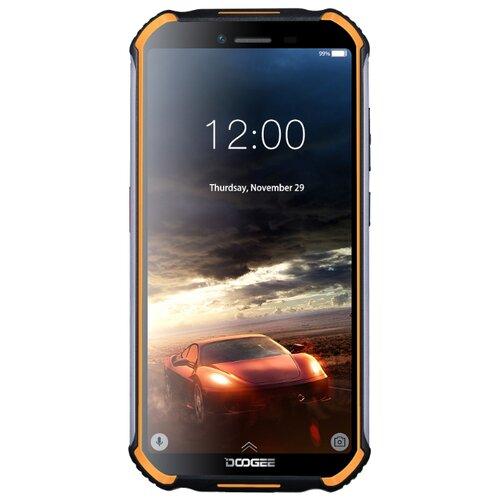 Смартфон DOOGEE S40 16GB оранжевый смартфон doogee x11 1 8gb черный