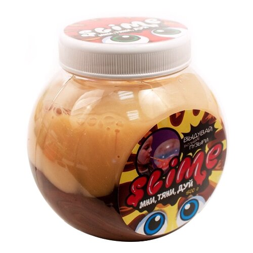 Фото - Лизун SLIME Mega Mix с ароматом мороженого и шоколада, 500 г (S500-8) развивающие игрушки slime cloud облачко с ароматом пломбира 200 г