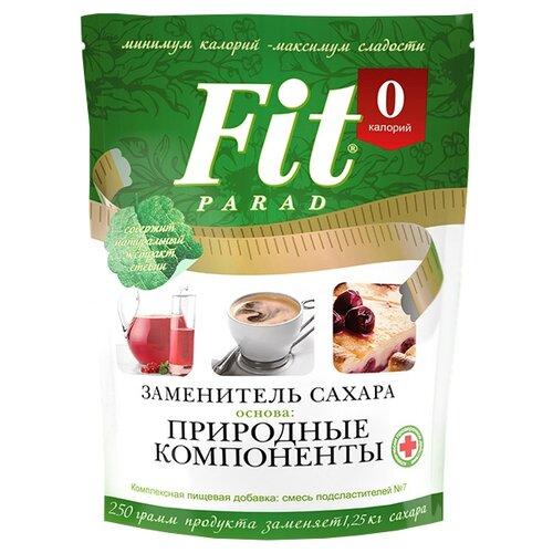 Fit Parad сахарозаменитель №7 природные компоненты, дой-пак порошок 250 г 1 шт.