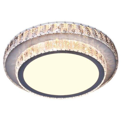 Светильник светодиодный Ambrella light Crystal F94 CH/CL 48W D490, LED, 48 Вт светильник светодиодный ambrella light fs1232 sd 48w d480 orbital led 48 вт