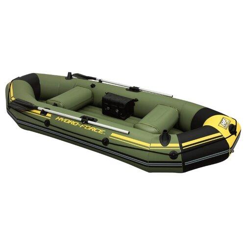 Фото - Надувная лодка Bestway Marine Pro (65096) зеленый надувная лодка flinc ft340к зеленый