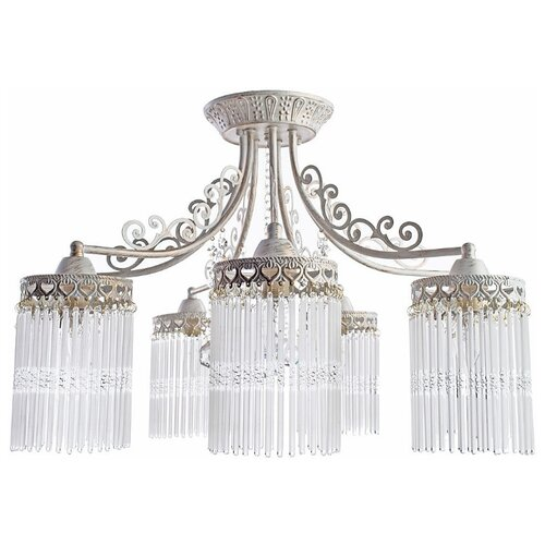 Люстра Arte Lamp Torrente A1678PL-7WG, E14, 360 Вт люстра arte lamp lucia a9594lm 7wg