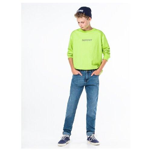 Джинсы Orby размер 158, голубой orby рубашка для мальчика orby