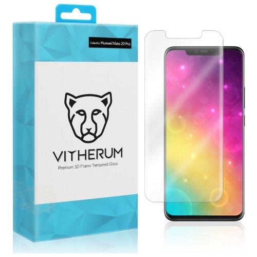 Купить Защитное стекло Vitherum AQUA Premium 3D Curved Full Transparent Tempered Glass для Huawei Mate 20 Pro прозрачный