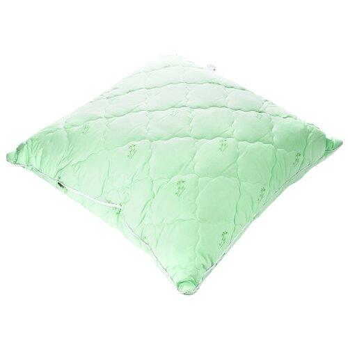 Подушка АльВиТек Бамбук (ПСБ-070) 68 х 68 см зеленый наволочка альвитек гостиница 68 68 см сатин
