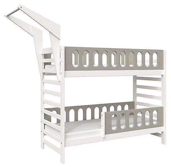 Двухъярусная кровать детская Domus Mia Loft Alfa