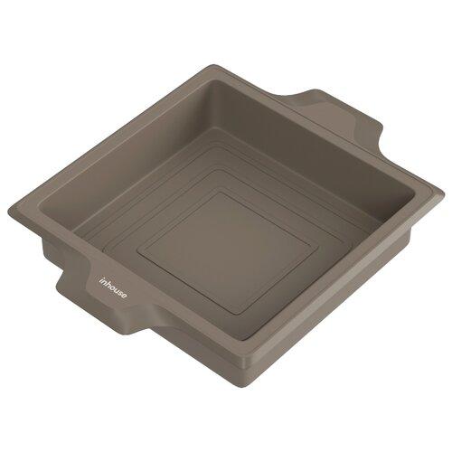 Форма для выпечки силиконовая inhouse IHCHARM05 (28.2х21.7х5 см)