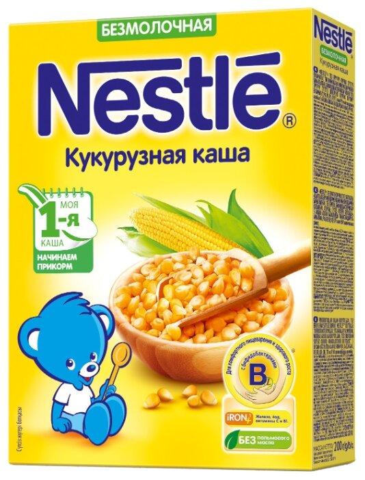 Каша Nestlé безмолочная кукурузная (с 5 месяцев) 200 г