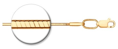 SOKOLOV Цепь из золочёного серебра 988010408