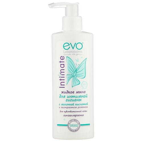 Evo Жидкое мыло для интимной гигиены Intimate для чувствительной кожи, 200 мл