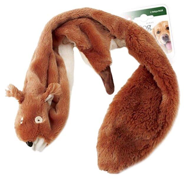 Игрушка для собак GiGwi Dog Toys Белка без набивки (75283)