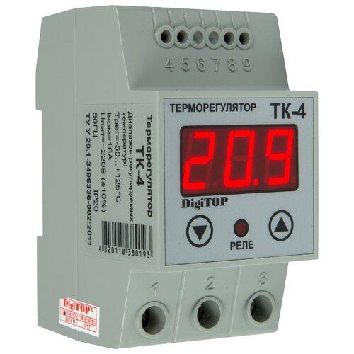 Фото - Терморегулятор Digitop ТК-4 серый digitop vp 20a