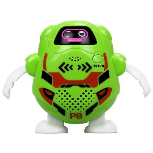 Интерактивная игрушка робот Silverlit Talkibot зеленый интерактивная игрушка silverlit робот боевой дракон 88563