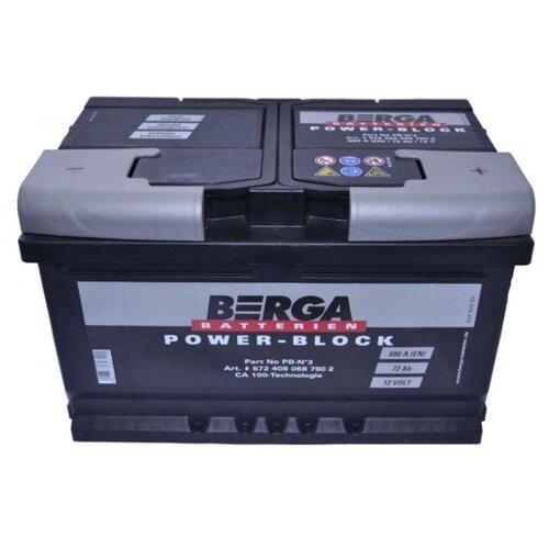 Автомобильный аккумулятор Berga PB-N3