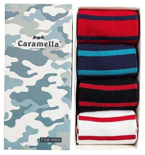 Носки Камуфляж-2 C53794, набор из 4 пар Caramella