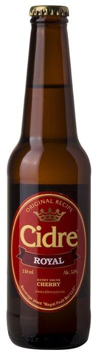 Медовуха Cidre Royal вишневая 0.33 л