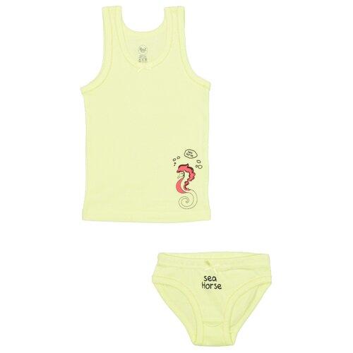 Купить Комплект нижнего белья RuZ Kids размер 92-98, фисташковый, Белье