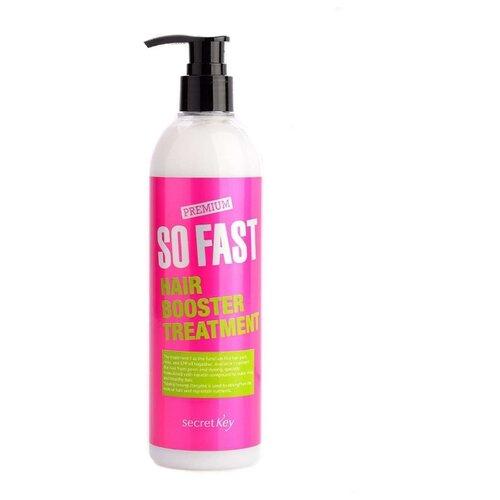 Secret Key средство Premium So Fast Hair Booster Treatment, 360 мл бальзам для быстрого роста волос so fast hair booster treatment 360мл