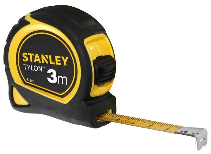Рулетка STANLEY Tylon 0-30-687 13 мм x 3 м