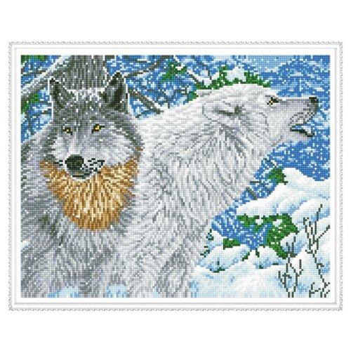 Molly Набор алмазной вышивки Северные волки (KM0109) 50х40 смАлмазная вышивка<br>