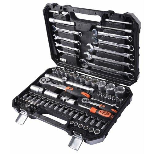 Набор автомобильных инструментов Квалитет (82 предм.) НИР-82 черный набор автомобильных инструментов thorvik 82 предм uts0082