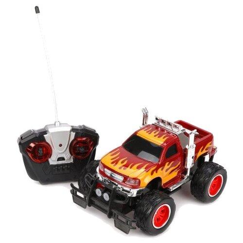 Купить Вездеход Shantou Gepai M6258-1 1:16 25 см красный, Радиоуправляемые игрушки