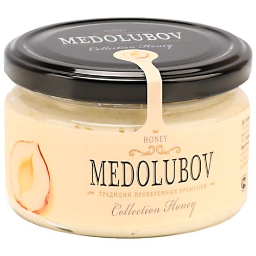 Крем-мед Medolubov с фундуком (светлый) 250 мл