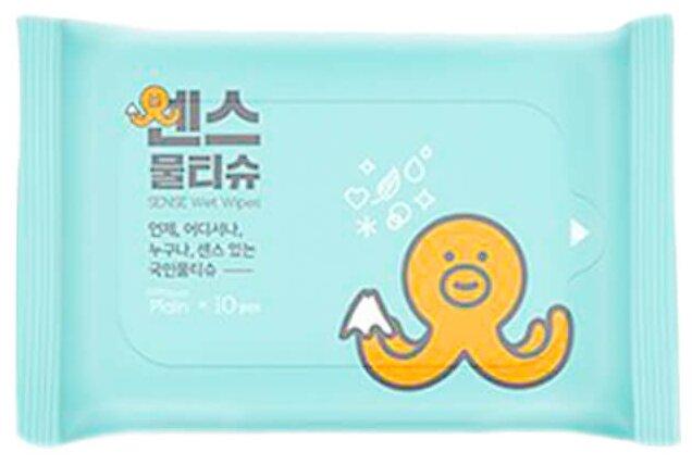 Влажные салфетки Joong Won Sense Secret Day Wet Wipes