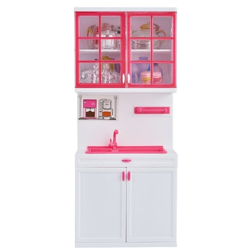 Kari Набор мебели для кухни I1091492 (84705040) белый/розовый набор с двумя пони с аксесс g868833 kari