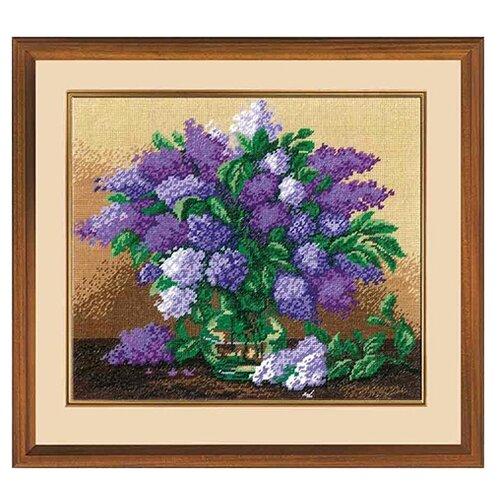 Купить Hobby & Pro Набор для вышивания Сирень 21 х 25 см (651), Наборы для вышивания
