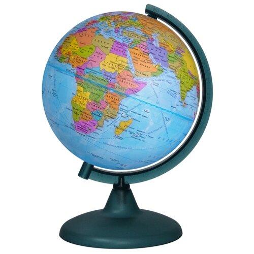 Фото - Глобус политический Глобусный мир 210 мм (10022) глобус физический глобусный мир 250 мм 10160 бирюзовый