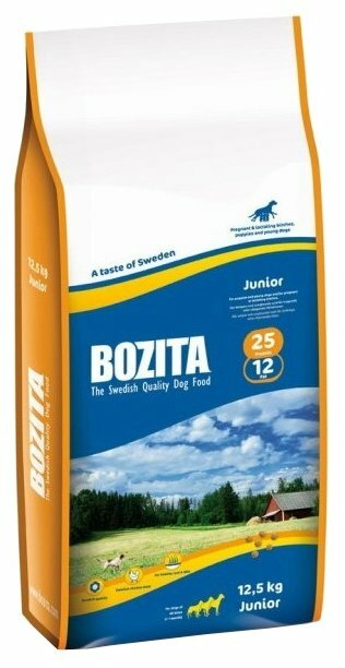 Корм для щенков Bozita курица 12.5 кг